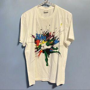 Lacoste T-shirt - BLAM Logo Crocodile Graphic